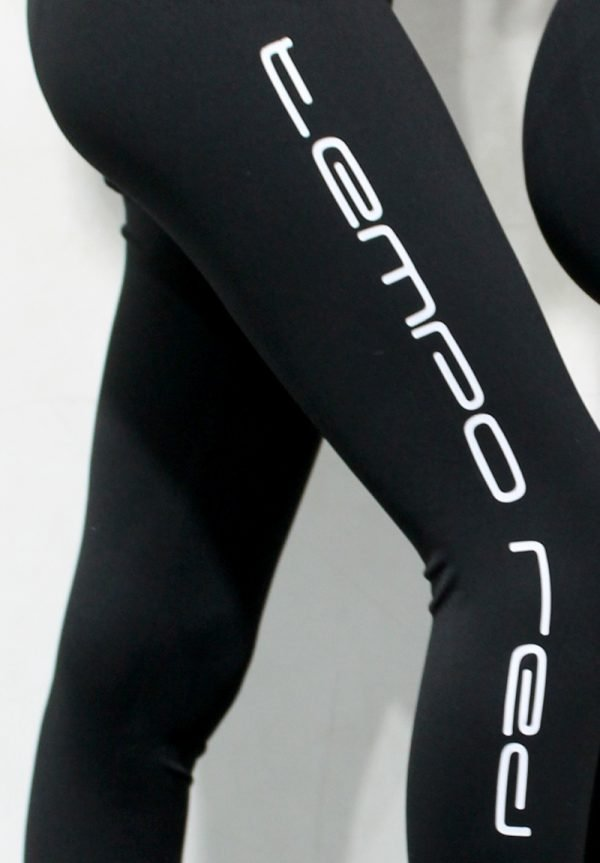 Tempo Red Logo Tights