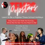 Tempo Red Popstars Workshop Brookvale